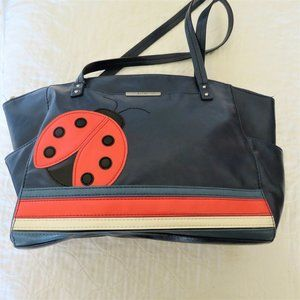 Women's Relic Leather Ladybug Handbag